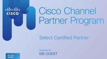 article-SIB Ouest obtient la certification Select de CISCO