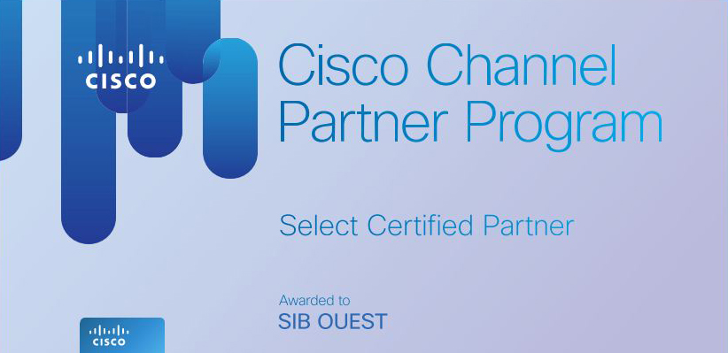 article-SIB Ouest obtient la certification Select de CISCO