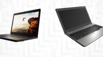 article-Promotion sur l'achat d'un Thinkpad E470/E570 de Lenovo jusqu'au 31 août
