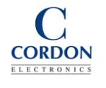 Cordon Electronics, Service achat-logo