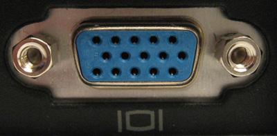 Connectique VGA