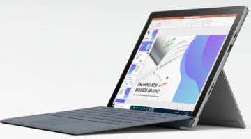 article-La nouvelle Surface Pro 7+ pour entreprises