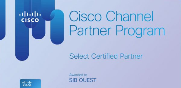 SIB Ouest obtient la certification Select de CISCO