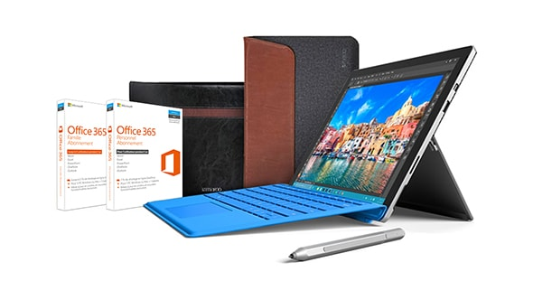 Pack Surface Pro 4 – Essentials