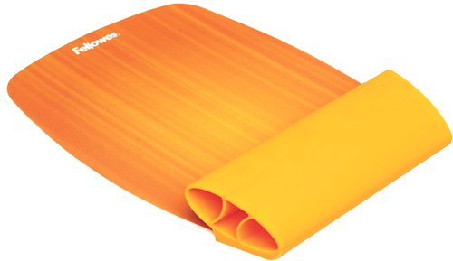 Tapis de Souris Repose-Poignets Silicone Orange